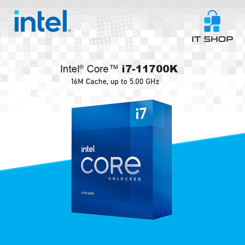 Foto Produk Processor Intel Core I7 11700K - LGA 1200 Box dari IT-SHOP-ONLINE