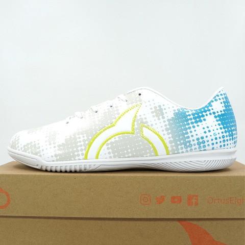 Foto Produk Sepatu Futsal Ortuseight Luminous IN White Cyan 11020243 Original BNIB - 40 dari KING OF DRIBBLE