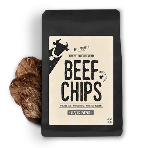 Foto Produk Beef Chips Black Pepper Crispy Bali Forages Keripik Daging Sapi Krispi - Beli Satuan dari Bali Forages