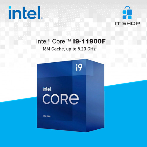Foto Produk Processor Intel Core I9 11900F - LGA 1200 Box dari IT-SHOP-ONLINE