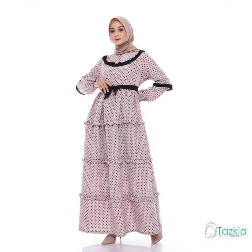 Foto Produk Dress Muslim Wanita | Gamis Amanda Coksu | M L XL | Tazkia Hijab - L dari Tazkia Hijab Store