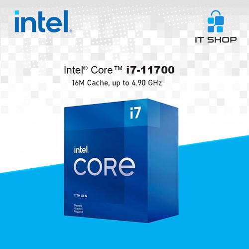 Foto Produk Processor Intel Core I7 11700 - LGA 1200 Box dari IT-SHOP-ONLINE
