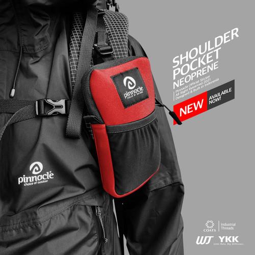 Foto Produk Pinnacle Shoulder Pocket - Merah dari Pinnacle Pro