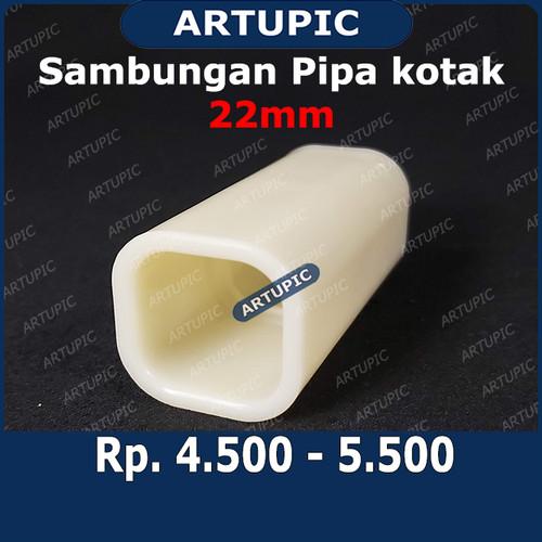 Foto Produk Sambungan Pipa Kotak 22 mm Plastik Konektor Pipe Kotak Kandang Ayam dari ArtupicPeralatanPeternak