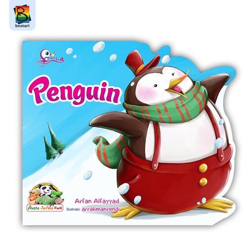 Foto Produk Buku Cerita Anak - Buku Bergambar - Seri Satwa Unik - Penguin dari 123bookstore