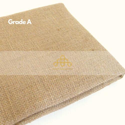 Foto Produk Karung Goni Lembaran 50cm - Kain Goni Baru - Burlap Jute Murah - Goni Grade A dari Rumah Karung Goni
