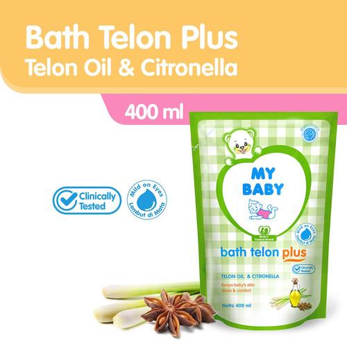 Foto Produk MY BABY Bath Telon Plus Refill 400mL - Sabun Cair Bayi Wangi Telon dari Tempo Store Official