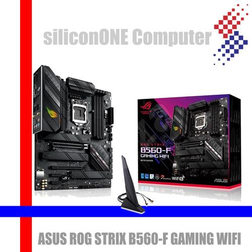Foto Produk ASUS ROG STRIX B560-F GAMING WIFI B560 B560F dari silicon ONE Computer