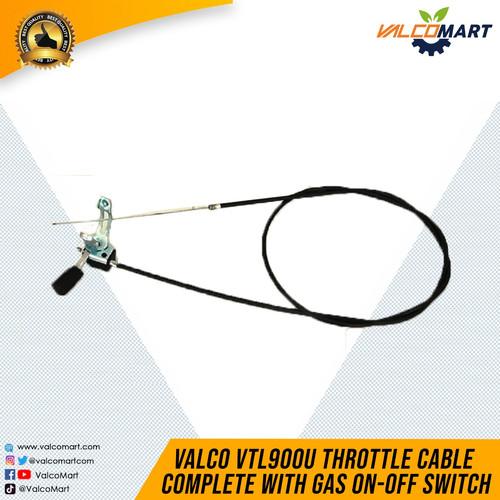 Foto Produk Sparepart Valco VTL 900U Traktor Mini Throttle Cable Complete dari Valco