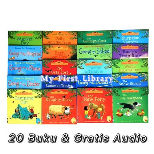 Foto Produk Usborne Farmyard Tales 20 books set buku anak dari My First Library