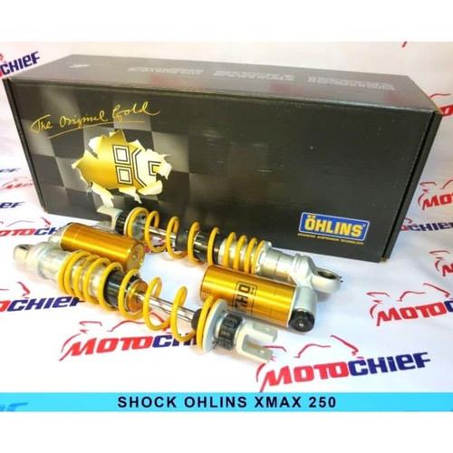 Foto Produk Shock OHLINS Yamaha XMAX 250 Limited Edition Warranty 3 Years Original dari Motochiefdotnet
