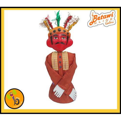 Foto Produk Ondel - Ondel Mainan Anak (Bisa Masuk Tangan) - Merah dari Betawionline shop
