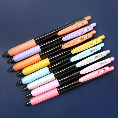 Foto Produk Zebra SARASA Decoshine Gel Ink Pen - Pulpen - Pulpen Warna dari Pinkabulous