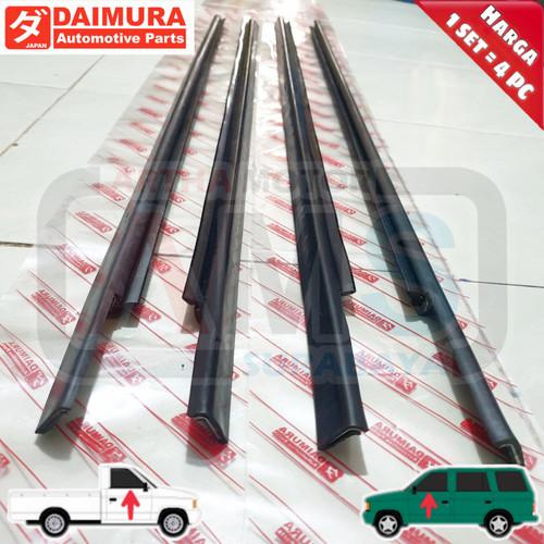 Foto Produk Karet pelipit list kaca wheater Strip Panther Lama Kotak depan 1set dari ARTHA MOTOR SURABAYA