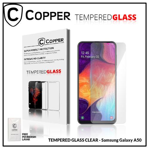 Foto Produk Samsung A50 - COPPER TEMPERED GLASS FULL CLEAR dari Copper Indonesia