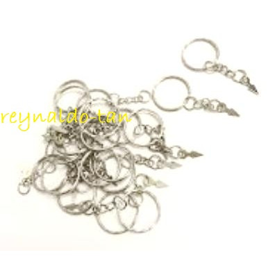Foto Produk 144 Pcs Ring Gantungan Kunci Diameter 2cm Model Tusuk Panah dari reynaldo-tan