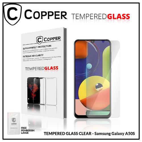 Foto Produk Samsung A50s - COPPER TEMPERED GLASS FULL CLEAR dari Copper Indonesia
