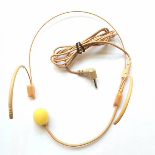 Foto Produk Mic Headset Skintone Warna kulit 3.5 mm cocok Buat Waistband Bodypack dari EtalaseBelanja