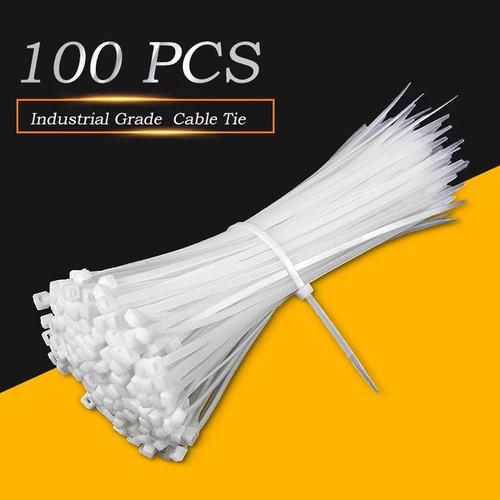 Foto Produk Kabel Ties Panjang 25cm 100pcs Tali Nilon pengikat kabel tis 250mm dari RAJACELL BEKASI