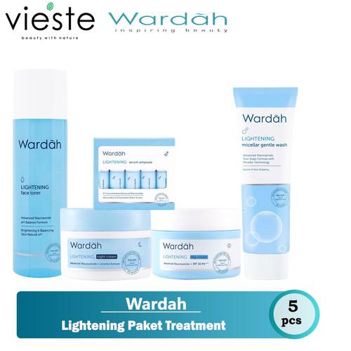 Foto Produk Wardah Lightening Paket Treatment dari VIESTE OFFICIAL STORE