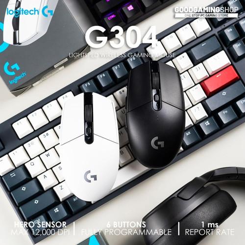 Foto Produk Logitech G304 -wireless gaming Mouse - Hitam dari GOODGAMINGM2M