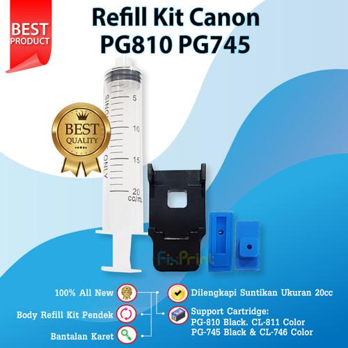 Foto Produk Refill Toolkit Penyedot Cartridge Canon Pendek 810 811 47 57 745 746 - Model Rendah dari FixPrint Jakarta