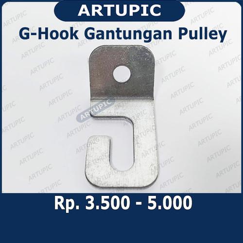 Foto Produk G-Hook Gantungan Pulley Puley G Hook Cocok untuk Pulley Hand Winch dari ArtupicPeralatanPeternak