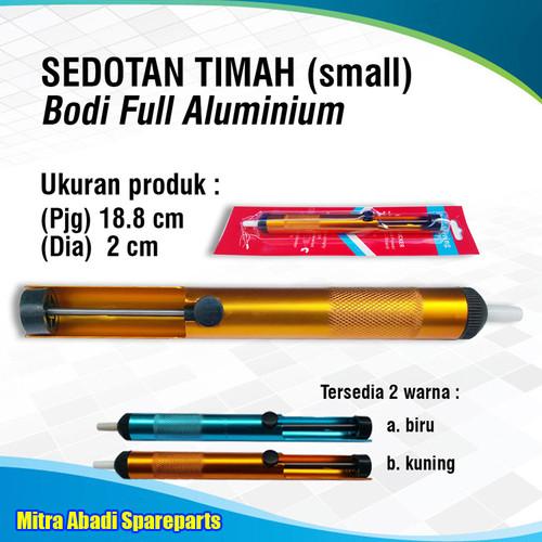Foto Produk Pompa Sedot Timah/Desoldering Pump Kecil/Small 18.8 cm - Kuning dari Mitra Abadi Spareparts