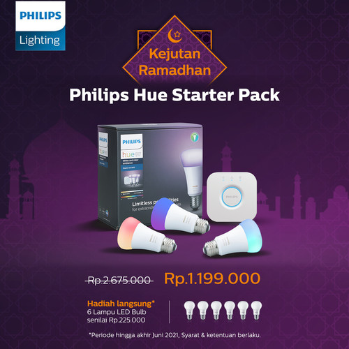Foto Produk Philips Hue Starter Pack dari Philips Lighting ID