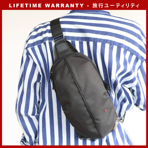 Foto Produk WAIST BAG TAS PINGGANG TFG TURTLE 406 BLACK dari TFG (Taylor Fine Goods)