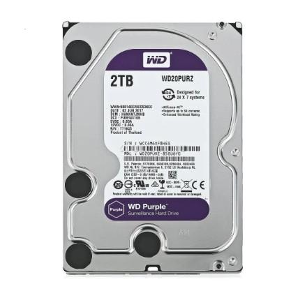 Foto Produk Harddisk WD Purple 2TB Surveillance Drive Sata 3.5 inch HDD 2 TB CCTV dari PojokITcom Pusat IT Comp