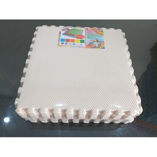 Foto Produk Evamat - Polos / Matras / Tikar / Karpet / Puzzle Alas Lantai Evamat - crem dari Pratama Foam ID