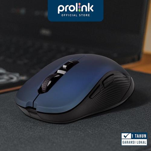 Foto Produk PROLiNK 2.4GHZ Mouse Wireless terbaik 6 Button 800 - 1600 DPI PMW6009 - Blue dari Prolink Official Store