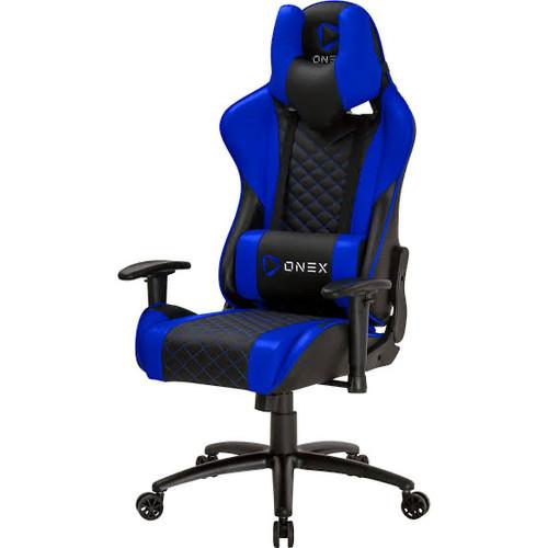 Foto Produk ONEX GX3 Gaming Chair Premium Quality Kursi Game Gamer Office School - Navy Blue dari Click & Go