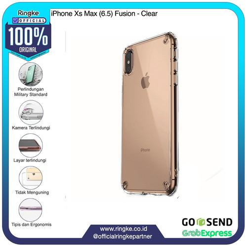 Foto Produk Ringke iPhone Xs / Xs Max / Xr Fusion Anti Crack Anti Drop Original - XsMax-Clear dari Official Ringke Partner