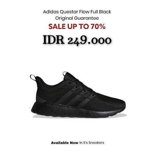 Foto Produk Adidas Original Questar Flow - Black - 42 dari It's Sneakers