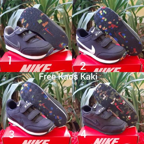 Foto Produk Nike REV size 30 - 37 sepatu anak pria wanita sekolah hitam putih - 32, Satu dari supplier sepatu 189