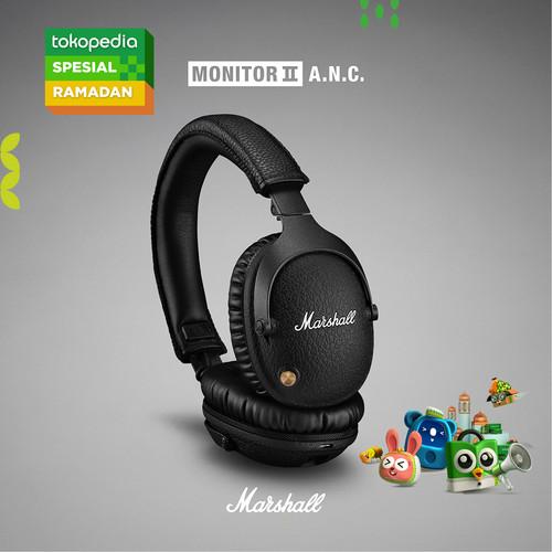 Foto Produk Marshall Monitor II ANC Bluetooth Headphones - Black dari Marshall Official