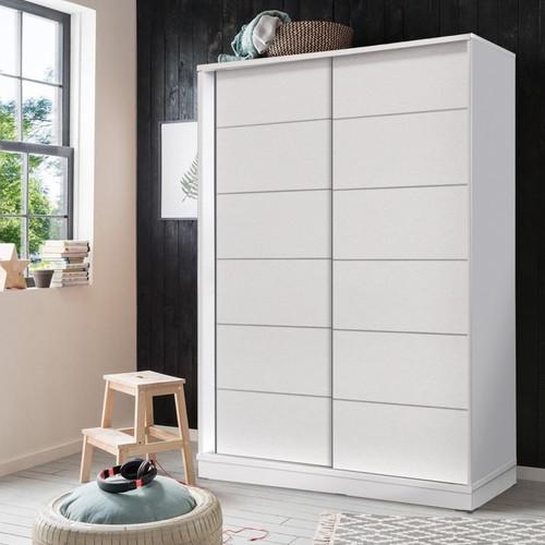 Foto Produk lemari baju minimalis ( Lemari sliding sedang 26112 ) dari BESTECH Furniture & Houseware