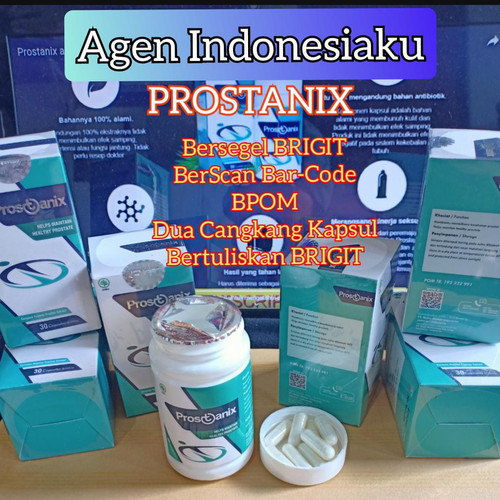 Foto Produk PROSTANIX Obat Prostat Asli Original Bergaransi 10 x lipat dari Agen Indonesiaku