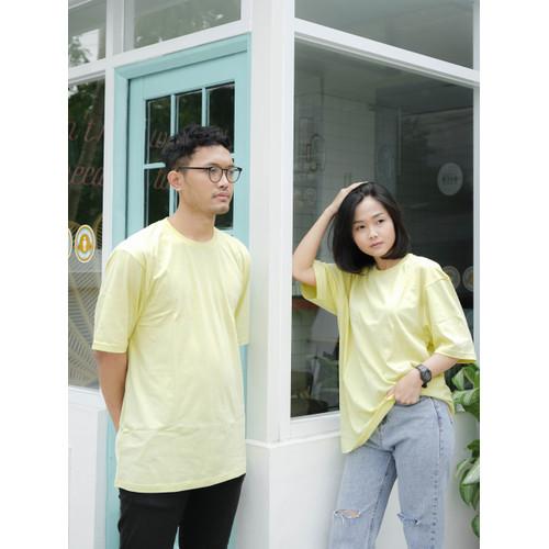 Foto Produk Kaos Polos Oversize Cotton combed 30s Premium Korean T-shirt (NEO) dari Superdigna_store