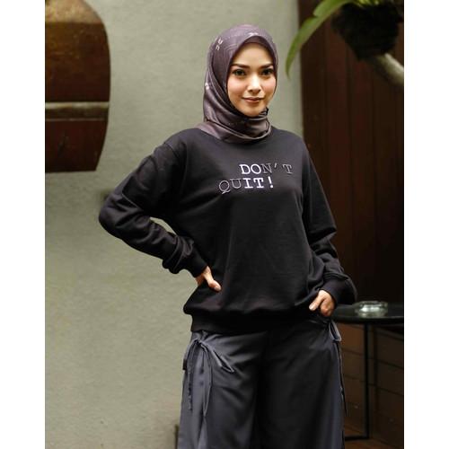 Foto Produk SWEATSHIRT DEENAY DO IT BLACK - M dari deenayofficialstore