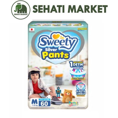 Foto Produk Sweety Fit Silver Pantz S 66, M 60 dan L54 - M60 dari SEHATI MARKET