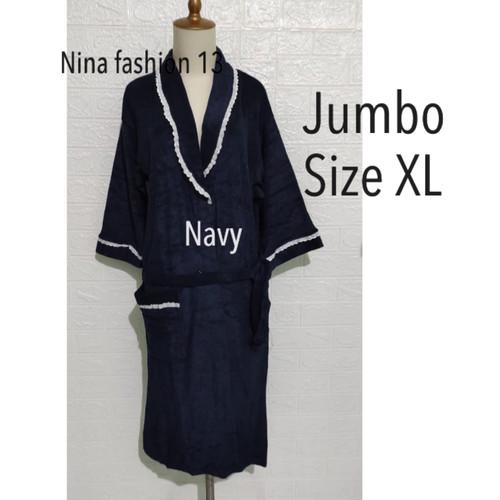 Foto Produk Handuk kimono dewasa XL jumbo - Merah dari Nina fashion 13
