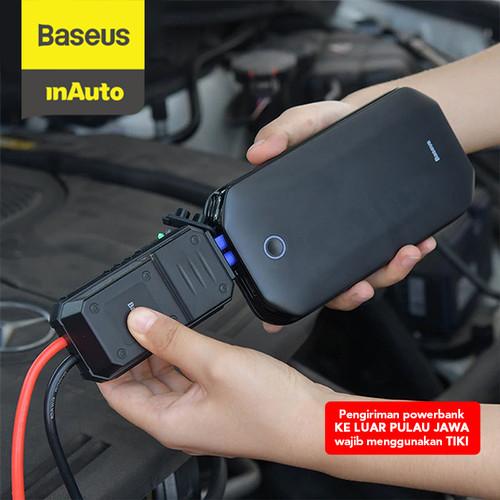 Foto Produk BASEUS POWERBANK 8000MAH CAR JUMP STARTER AKI MOBIL ACCU POWER - Hitam dari Baseus Auto Life