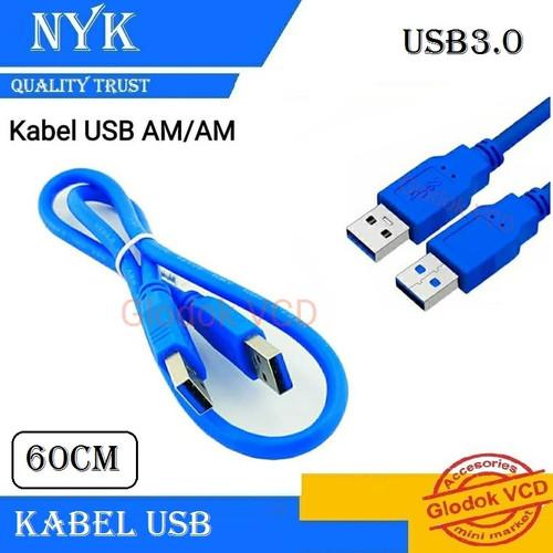 Foto Produk Kabel USB 3.0 NYK male to male 60cm dari Glodok VCD