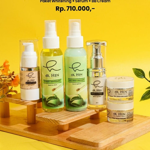 Foto Produk ❤️original❤️ Paket basic complete dR hen whitening dan acne - complete, whitening dari Koreanholicshop