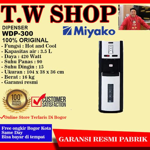 Foto Produk Dispenser galon bawah panas dingin Miyako wdp-300 dari T.W Shop