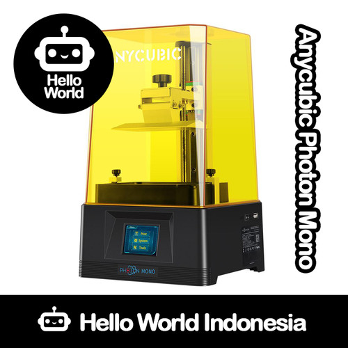 Foto Produk 3D Printer Anycubic Photon Mono Upgraded DLP UV LED 405nm Resin dari Hello World Indonesia