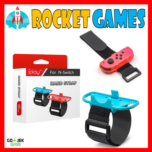Foto Produk IPlay Hand Strap Nintendo Switch / Wrist Band Switch for Joycon dari Rocket games